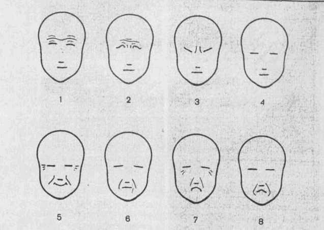Схеми виразу емоцій
